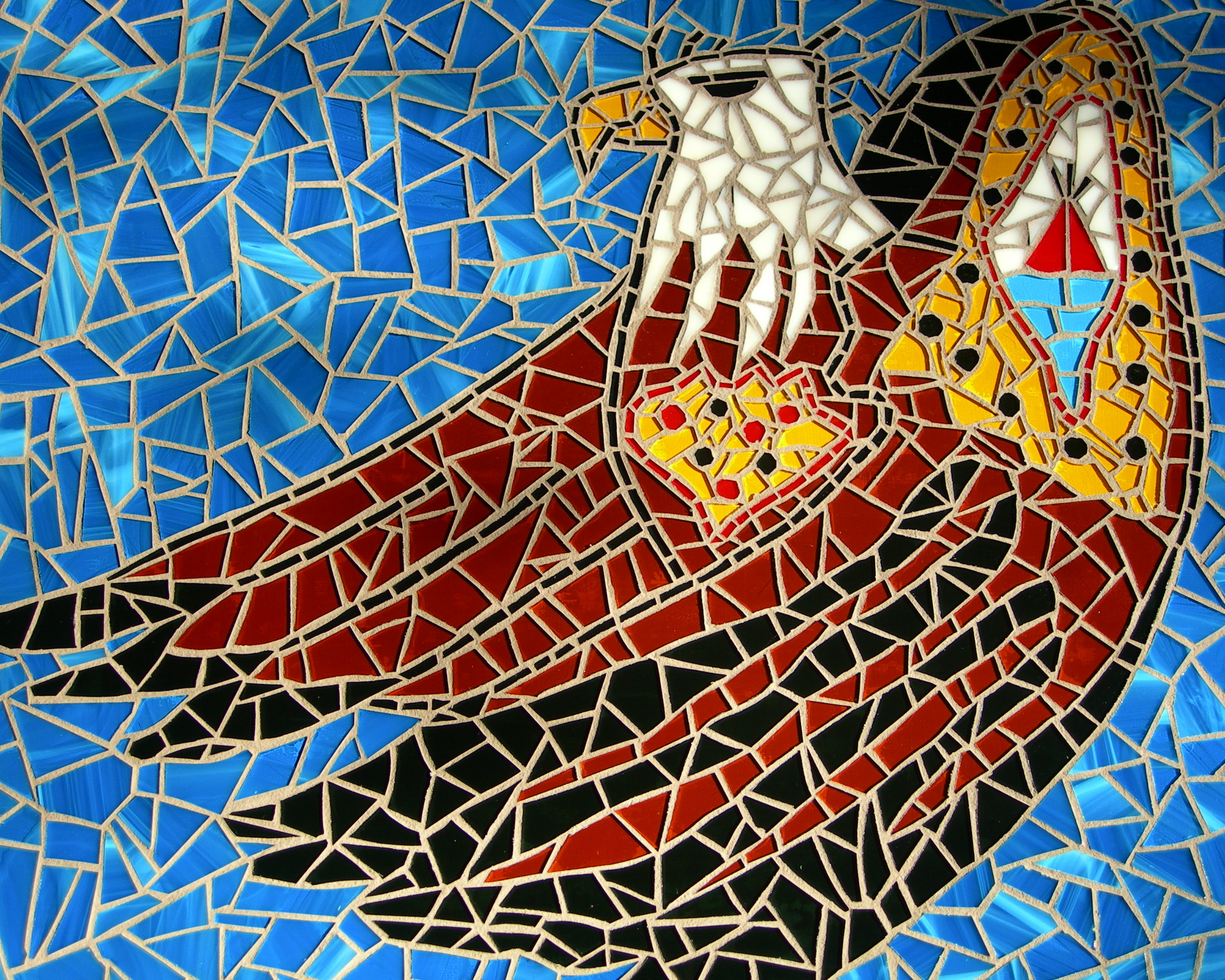 a mosaic with meaning julie sperling mosaics