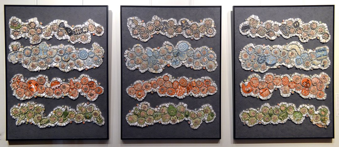 sperling community climate change mosaic for city of Kitchener artist in residence project